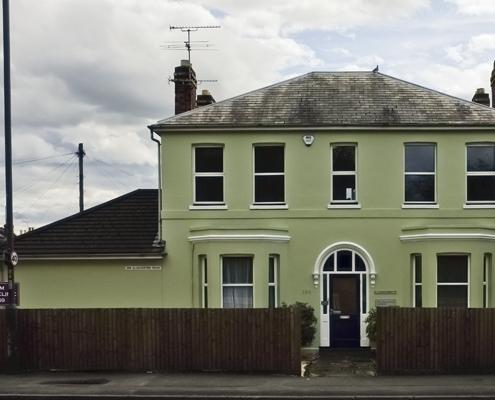 Original Cheltenham Chiropractic Clinic Building on Granley Road