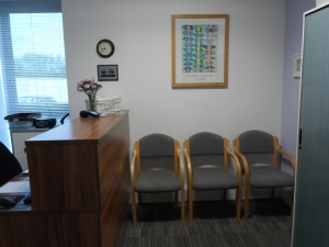 Cheltenham Chiropractic Clinic waiting room