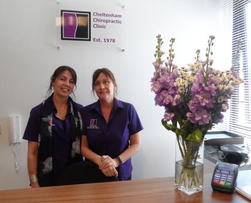 Cheltenham Chiropractic Clinic receptionists