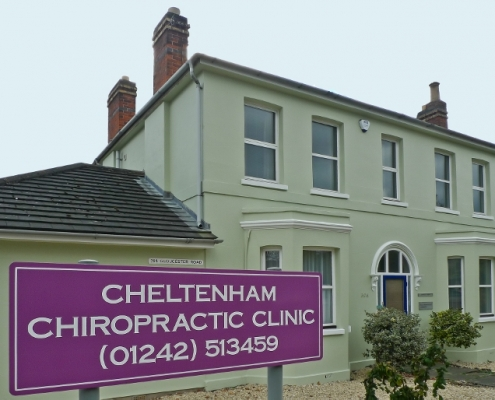 Original Cheltenham Chiropractic Clinic Building on Granley Road