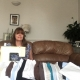 Cheltenham Chiropractic Clinic receptionist Mandy sew laundry bags for NHS Workers - please help Cotswold Scrubs!