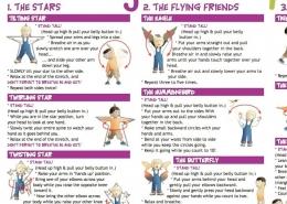 Straighten Up UK Kids exercises
