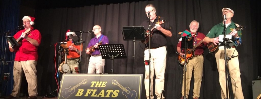 The Bflats - Cheltenham Ukelele band