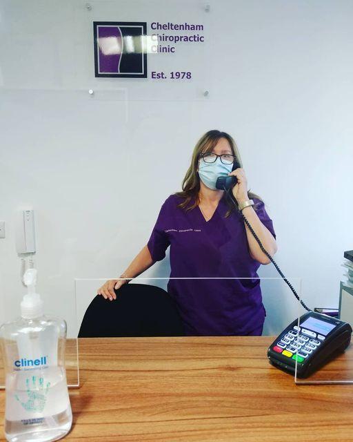 Cheltenham Chiropractic Clinic Receptionist Mandy