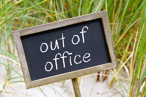 Out of Office Cheltenham Chiropractic Clinic